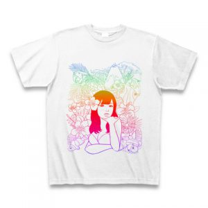 【トロピカル桃】Tシャツ