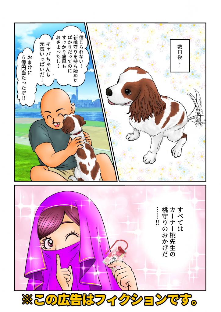 桃守り広告3